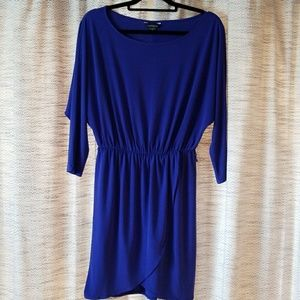 5/$25 Moda International Dress Blue Purple Small